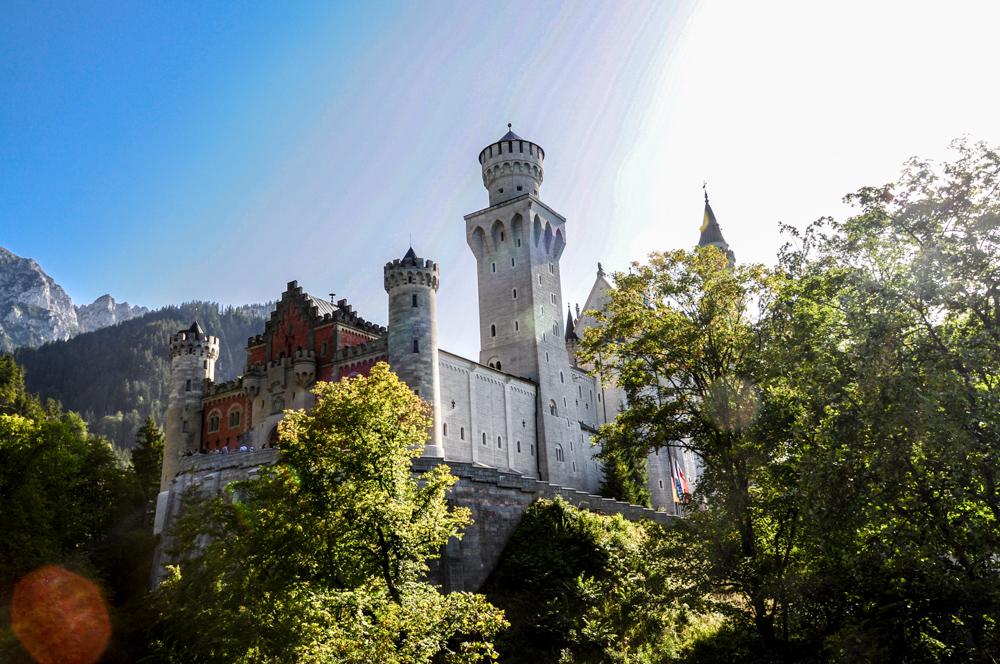 Baviera Castello di Neuschwainstein