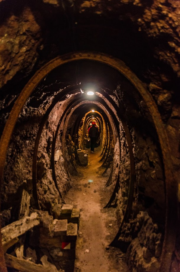 Montecatini Val di Cecina - Interno della miniera