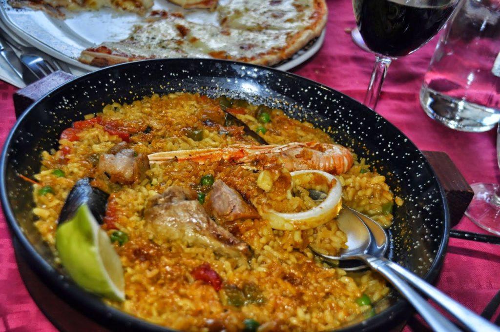 Valencia - La paella