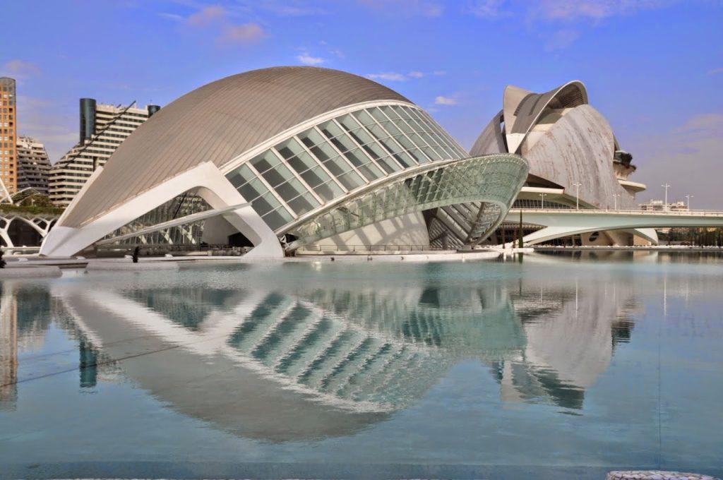 Valencia - La città delle arti e delle scienze