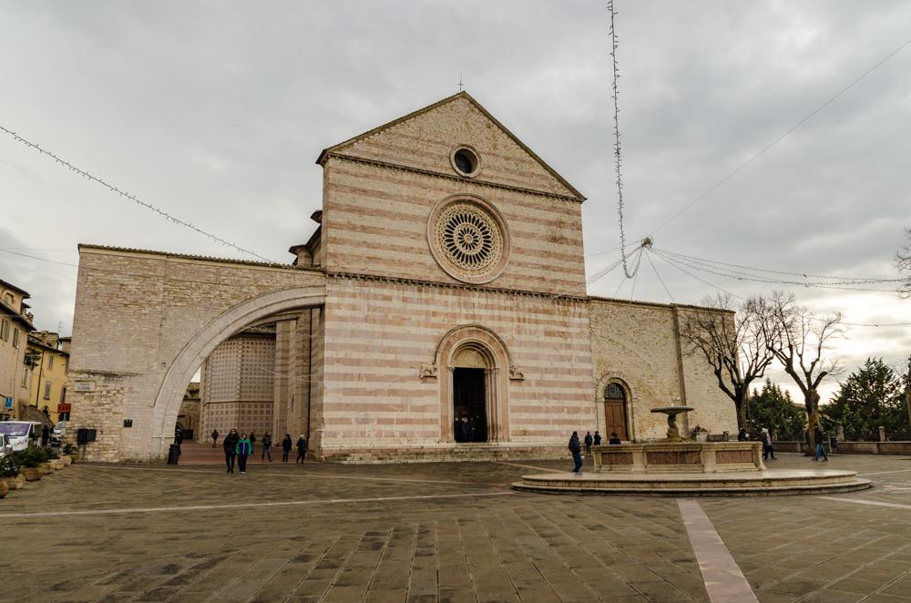 Assisi Basilica di Santa Chiara