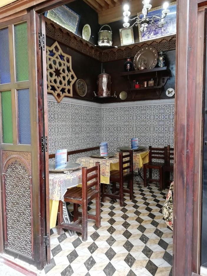 Mini ristorante nella medina di Fes