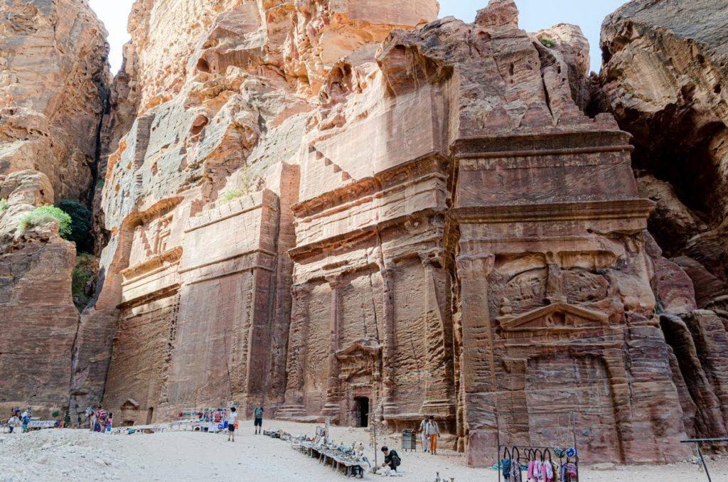 Il Siq esterno - Petra