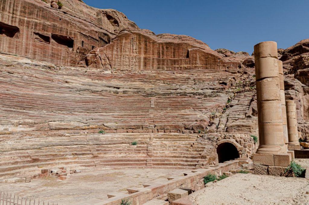 Il teatro - Petra