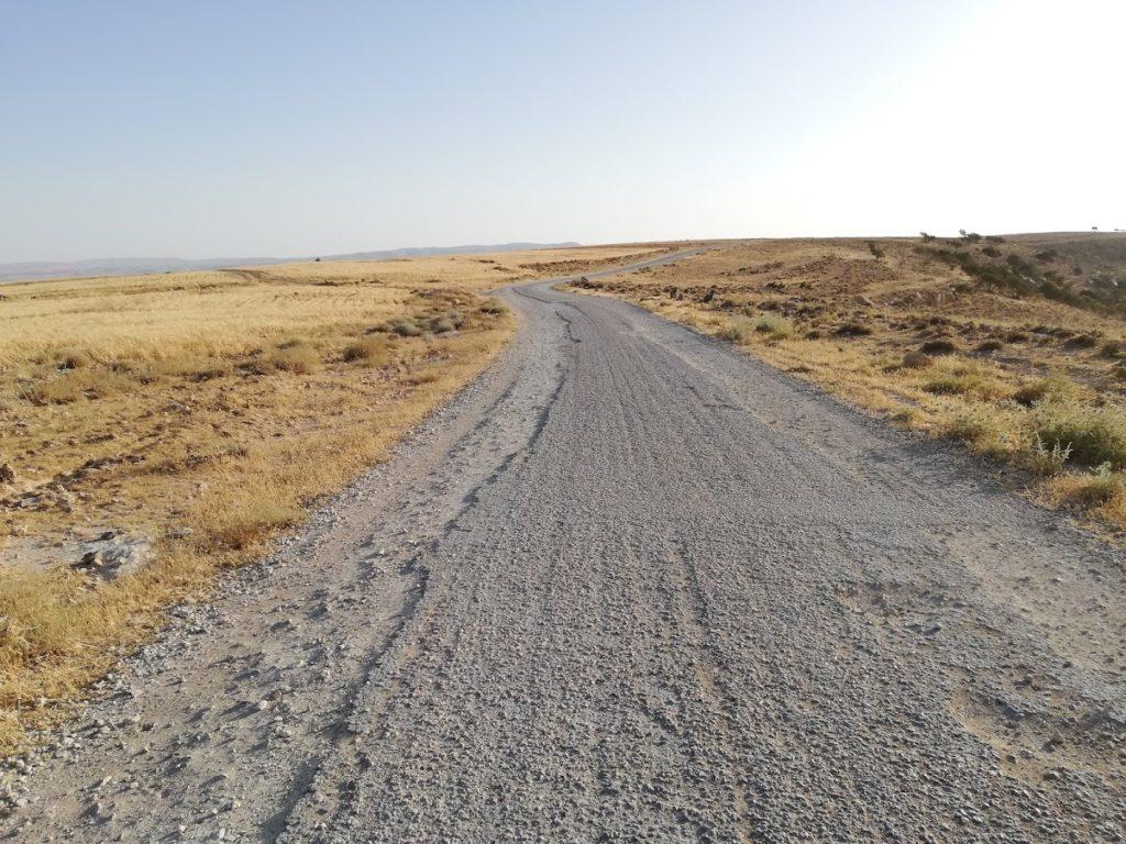 La strada per Al Nawatef