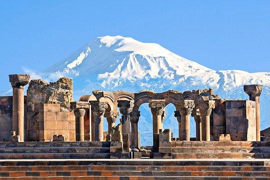 Tempio di Zvarnots - Armenia