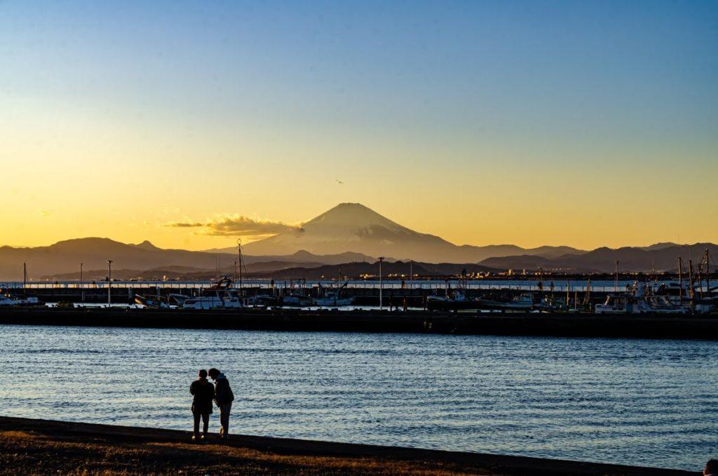 Il Fujiama da Enoshima