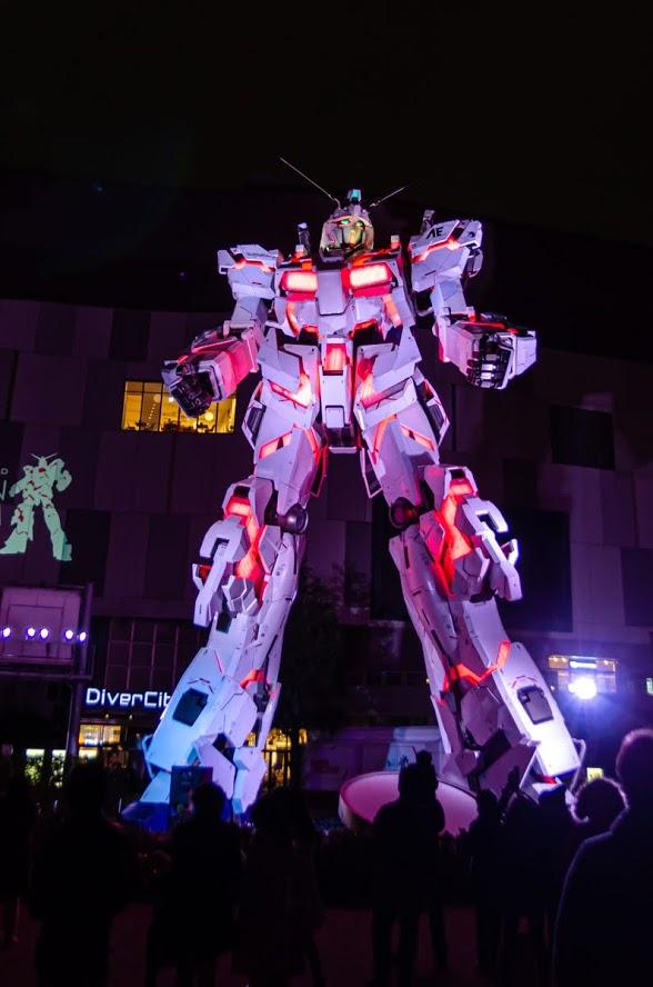 Gundam Unicord Odaiba