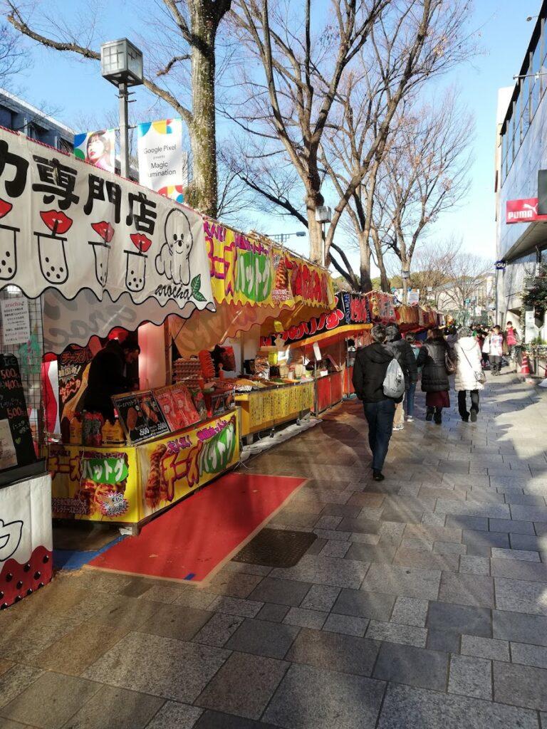Verso il Meiji Jingu Shrine