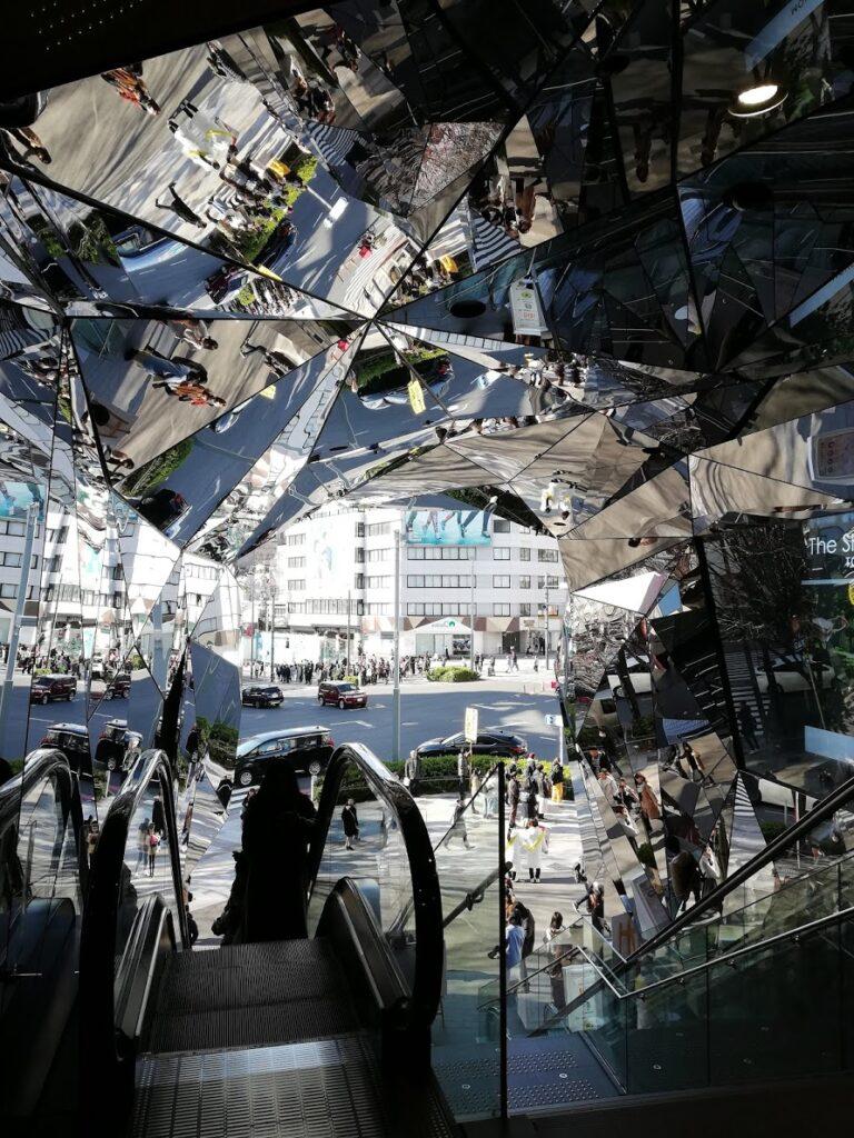 L'ingresso del Tokyu Plaza